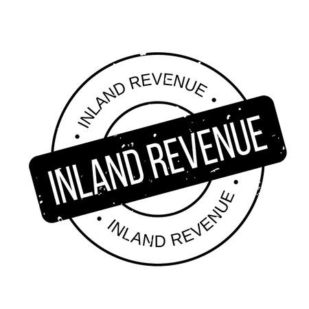 Inland Revenue rubber stamp Çizim