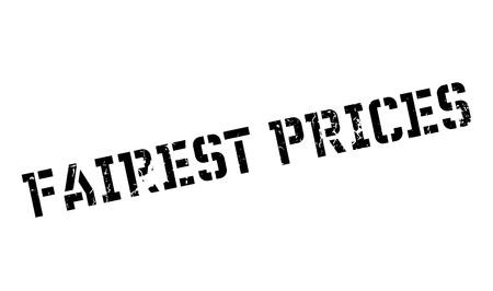 Fairest 가격 도장