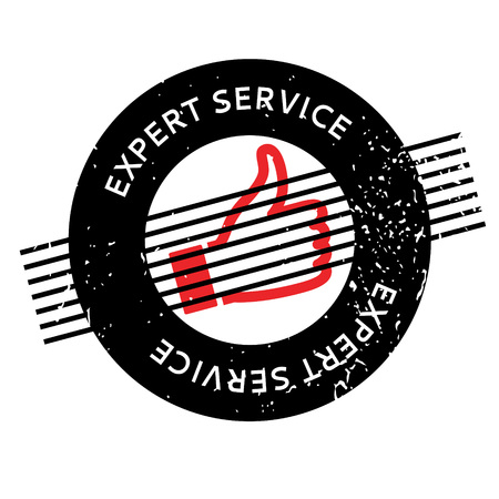 Expert Service rubber stamp