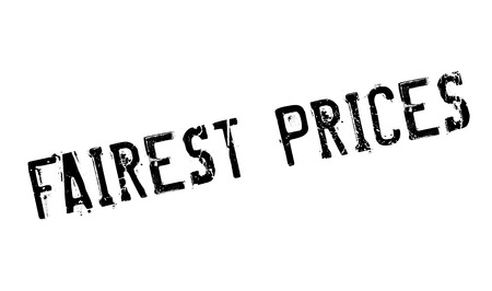 Fairest Prices rubber stamp