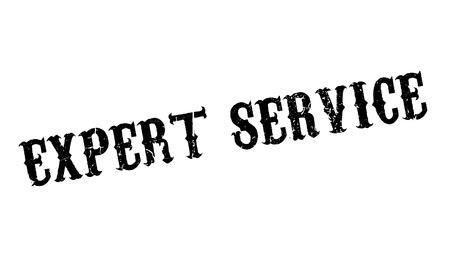 ministration: Expert Service rubber stamp