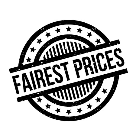 Sello de goma de los precios más justos