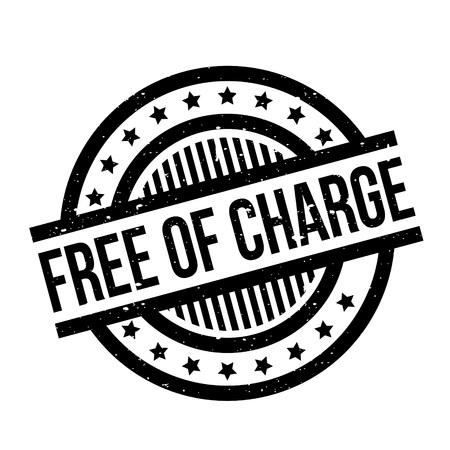 freebie: Free Of Charge rubber stamp