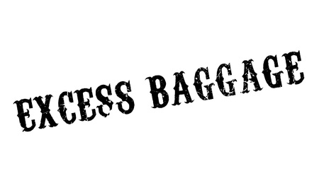 excess: Excess Baggage rubber stamp