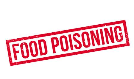 Voedselvergiftiging rubberzegel