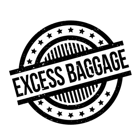 Excess Baggage rubber stamp