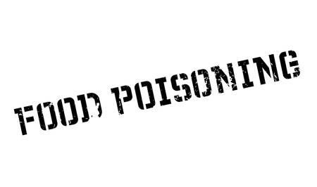 Food Poisoning rubber stamp