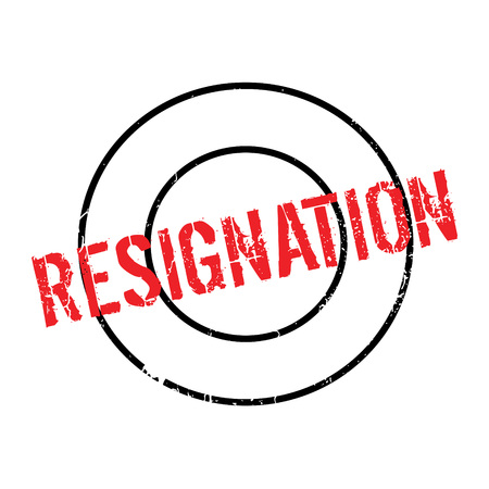 laid: Resignation rubber stamp