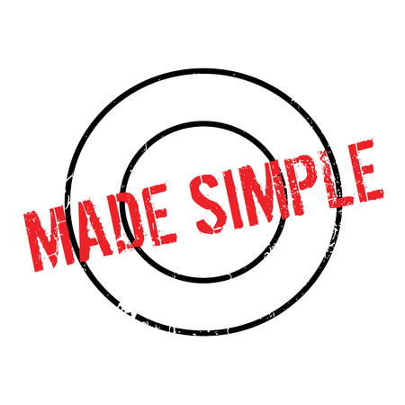 Made Simple rubber stamp