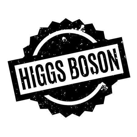 Higgs Boson rubber stamp Фото со стока - 77660648