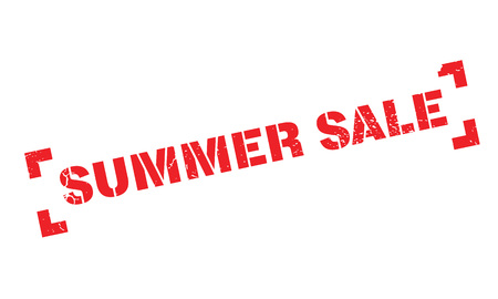 summer solstice: Summer Sale rubber stamp. Grunge design with dust scratches. Effects can be easily removed for a clean, crisp look. Color is easily changed.