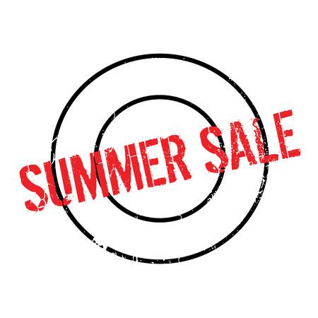 cousin: Summer Sale rubber stamp Illustration