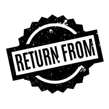 Return From rubber stamp