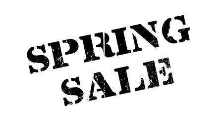 Spring Sale rubber stamp