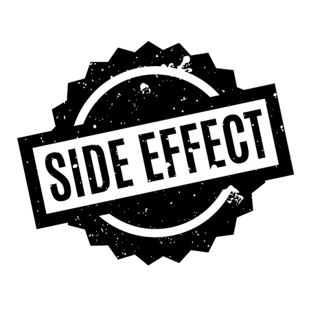 adverse: Side Effect rubber stamp