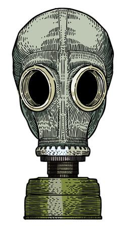 航空ショー: ガスマスクの漫画画像