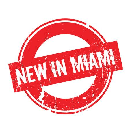 maverick: New In Miami rubber stamp Illustration