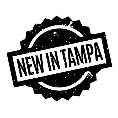 outfielder: New In Tampa rubber stamp