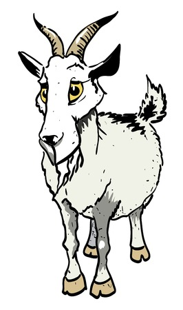 Cartoon image of goat