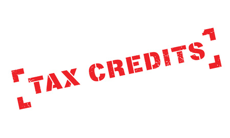 advantages: Tax Credits rubber stamp
