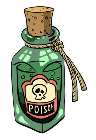 Cartoon afbeelding van gif
