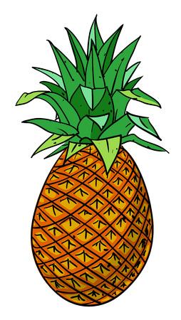 Cartoon image of pineapple