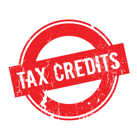 Tax Credits rubber stamp