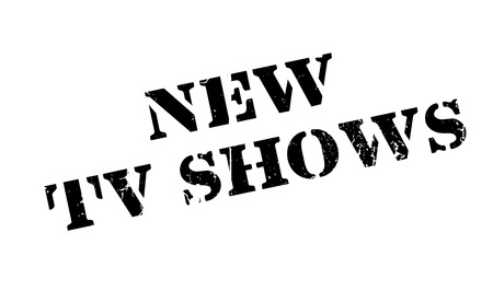 panoply: New Tv Shows rubber stamp