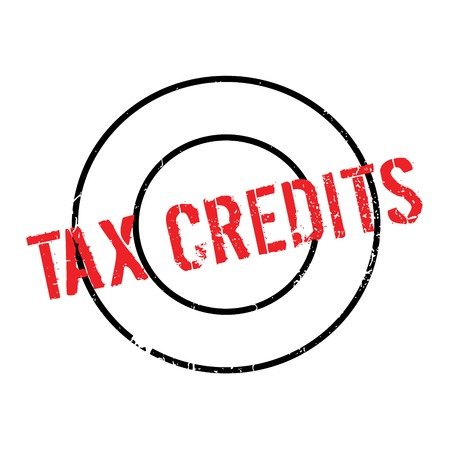 tax bracket: Tax Credits rubber stamp