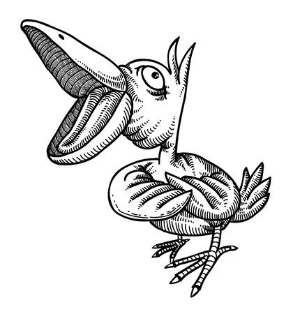 Image de bande dessinée de l'oiseau chanteur Banque d'images - 77707683