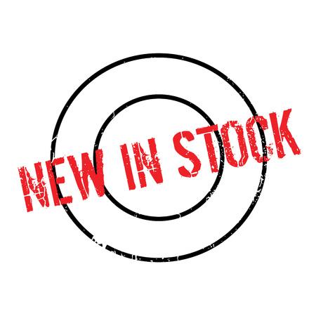 Nouveau tampon en stock
