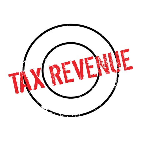 Tax Revenue rubber stamp