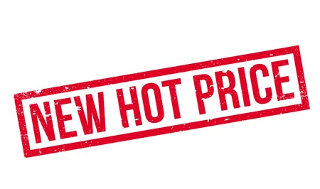 New Hot Price rubber stamp Stock Photo