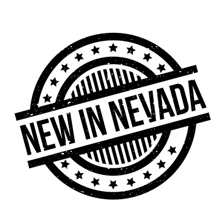 reno: New In Nevada rubber stamp