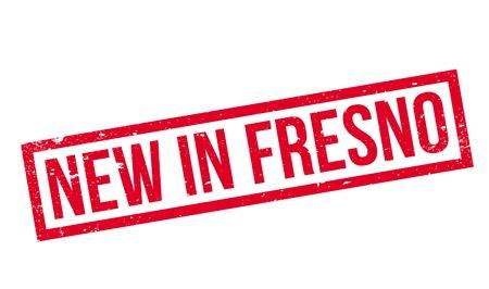 Nieuw In Fresno rubberzegel