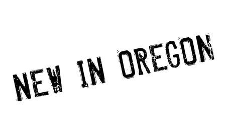オレゴン州は新しいゴム印