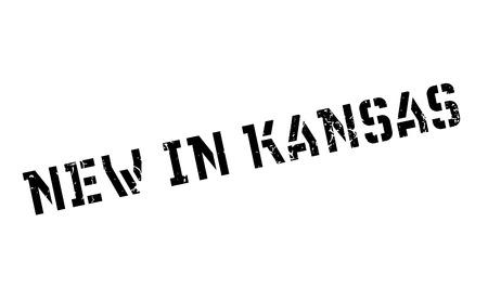 dorado: New In Kansas rubber stamp