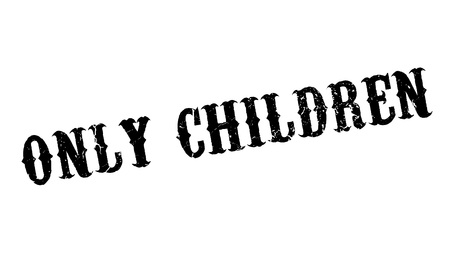 tot: Only Children rubber stamp