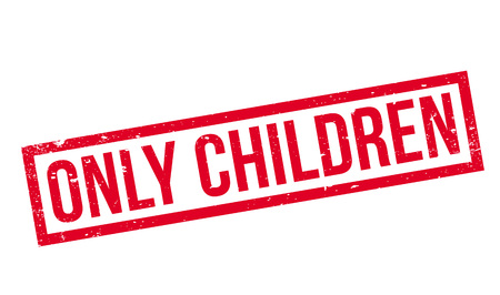 Only Children rubber stamp