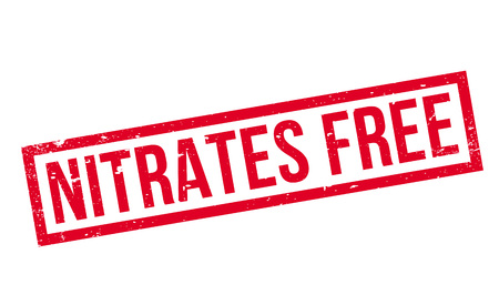 Nitrates Free rubber stamp