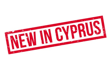 キプロスの新しいスタンプ  イラスト・ベクター素材
