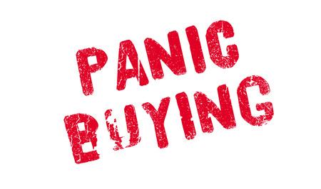 Panic Buying rubber stamp Çizim
