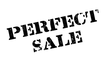 barter: Perfect Sale rubber stamp Illustration
