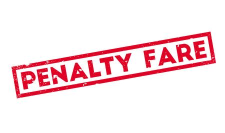 retribution: Penalty Fare rubber stamp