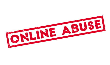 harass: Online Abuse rubber stamp