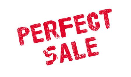 Perfect Sale rubber stamp Ilustração