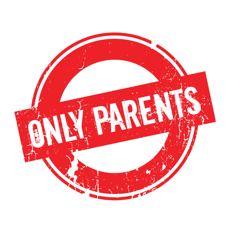 Only Parents rubber stamp Imagens - 77790193
