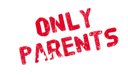 Only Parents rubber stamp Imagens - 77790264
