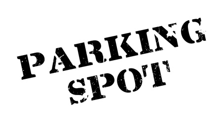 snort: Parking Spot rubber stamp