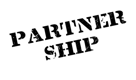 Partner Ship rubber stamp